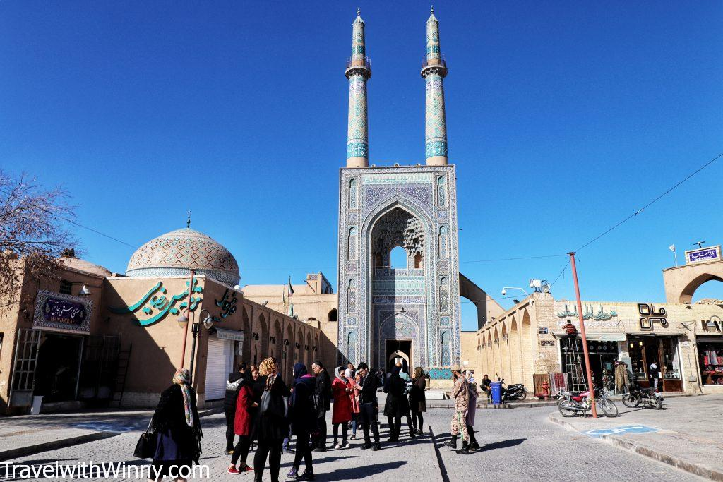 亞茲德聚禮清真寺 Masjid-e Jame