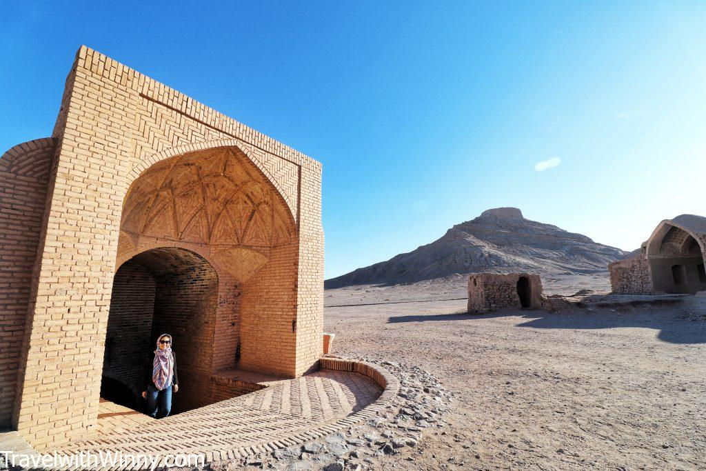 An ab anbar yazd water museum deserts of iran