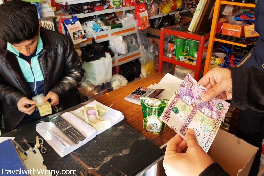 turkmen manat 土庫曼貨幣