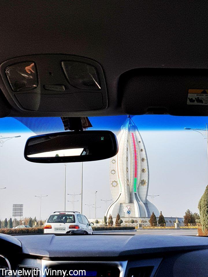giant thermometer ashgabat