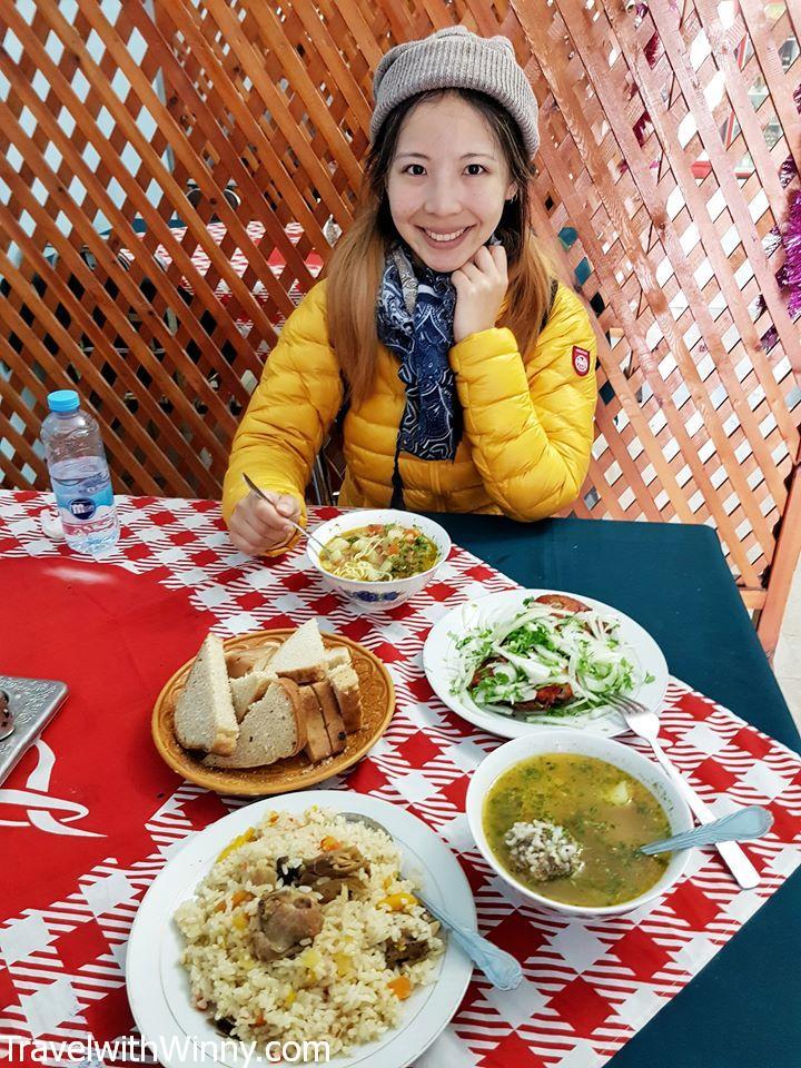 turkmenistan food
