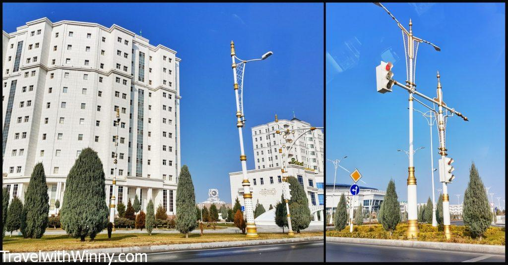 ashgabat white buildings