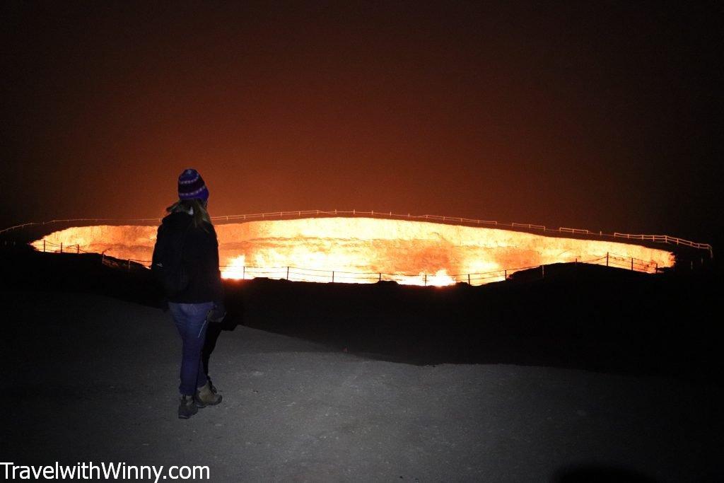 土庫曼地獄之門 gates of hell turkmenistan darvaza crater