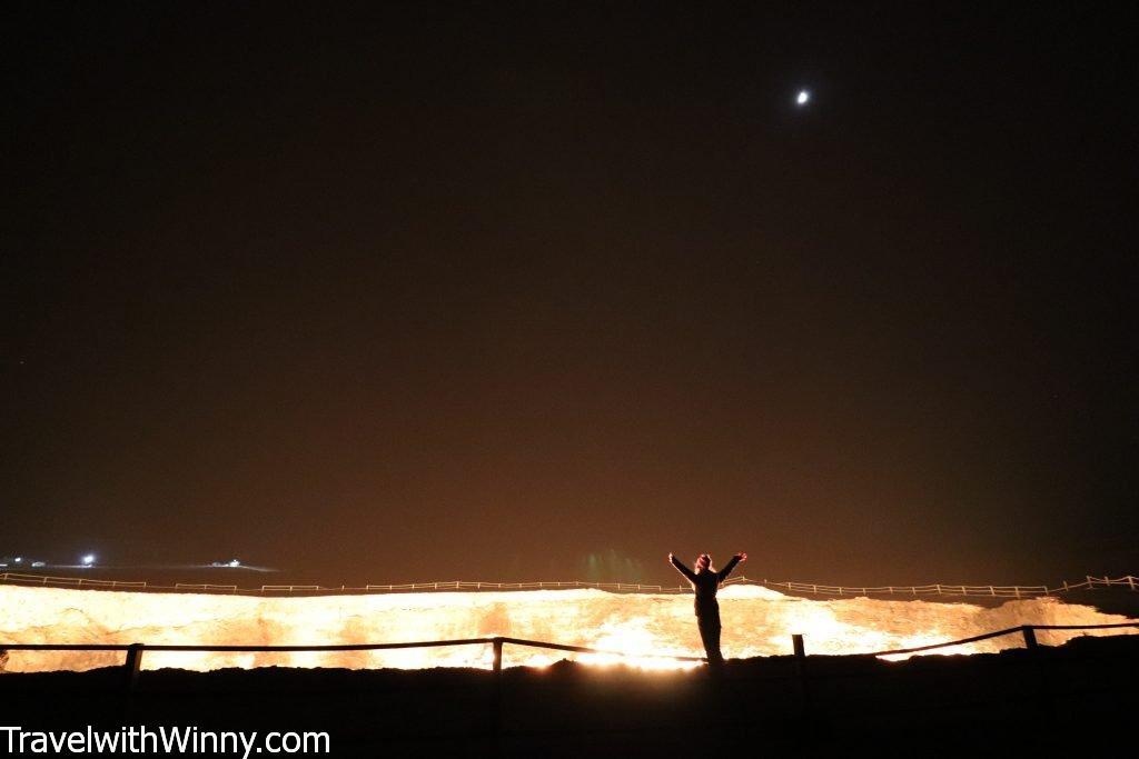 土庫曼地獄之門 gates of hell turkmenistan darvaza gas crater