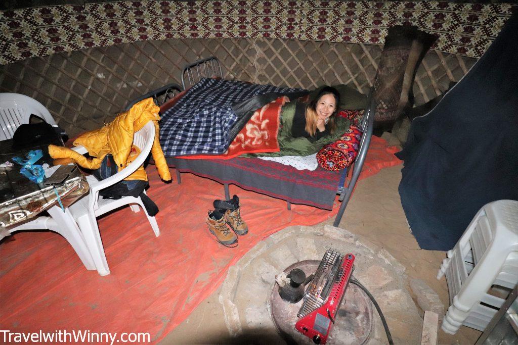 yurt darvaza gas crater accommodation