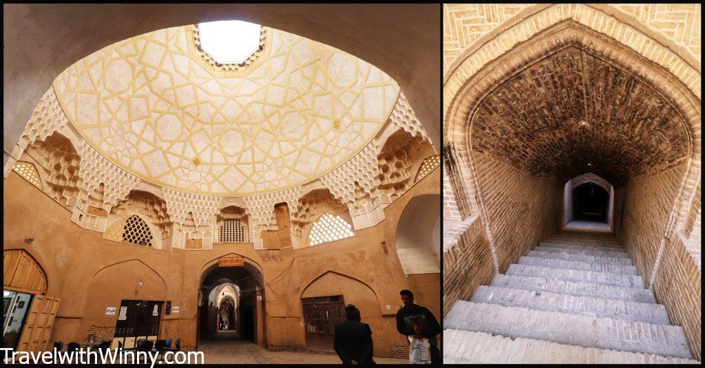 An ab anbar yazd water museum