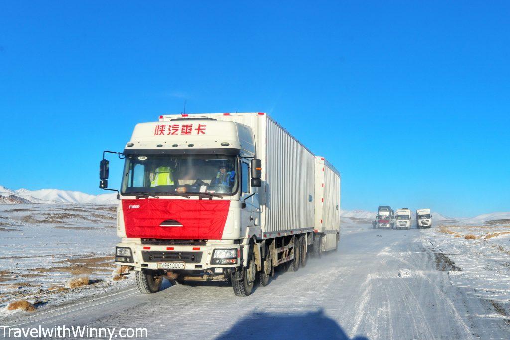 chinese truck 中國貨車 Pamir Highway Itinerary