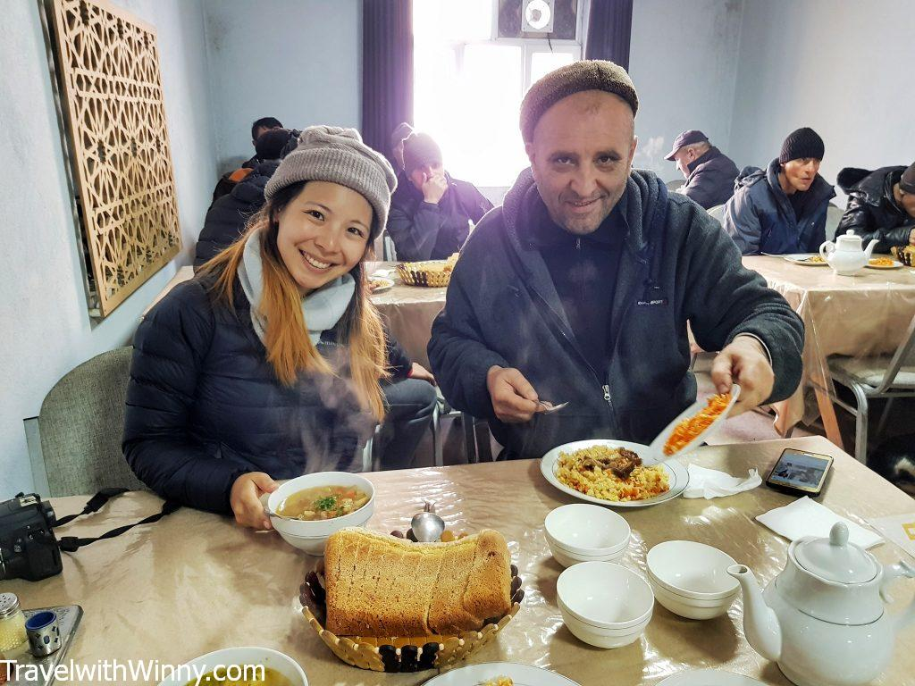 pamir highway food tajikistan tajik food 塔吉克 食物