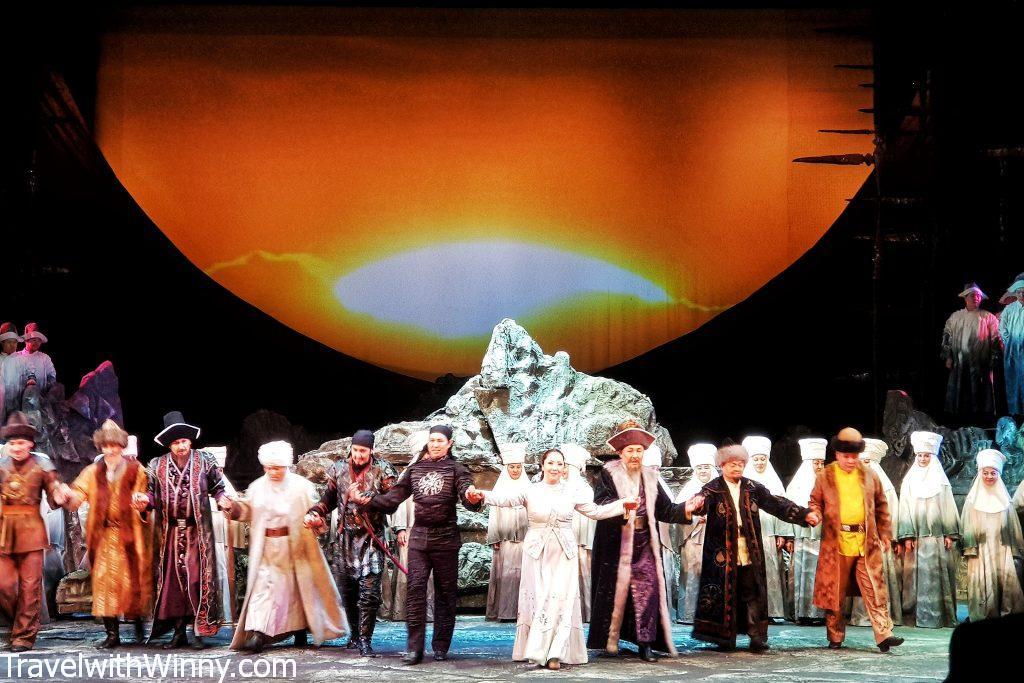 Abay Opera House almaty
