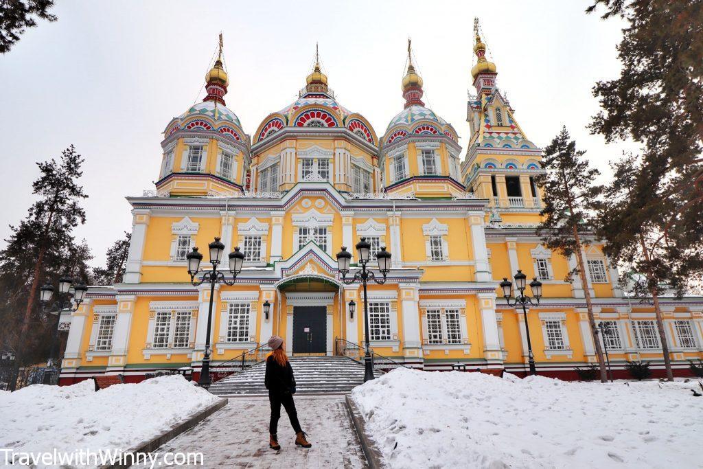 Zenkov's cathedral almaty