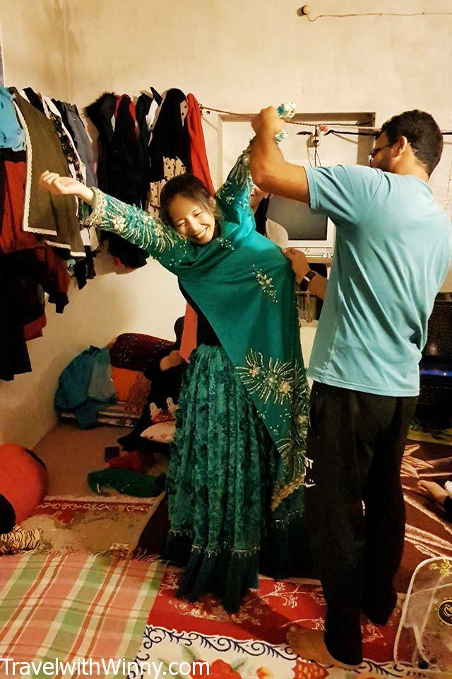 伊朗 傳統服飾 iran traditional outfit woman