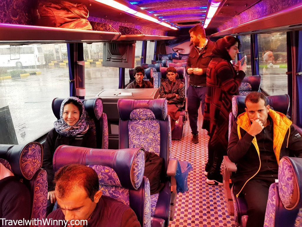 iran vip bus 伊朗 客運 公車