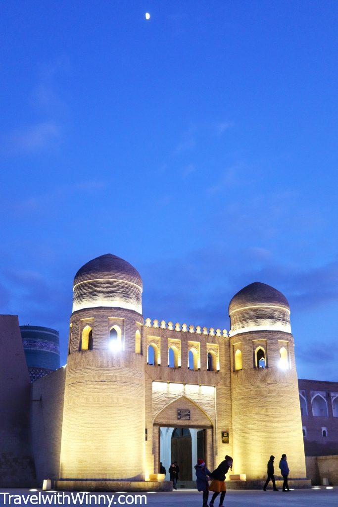 khiva 希瓦 Ichan Qala gate 烏茲別克 uzbekistan