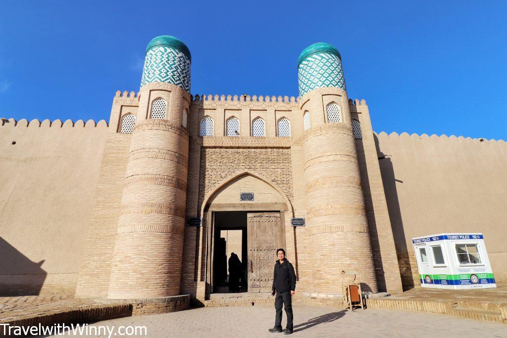 Kunya-Ark khiva uzbekistan
