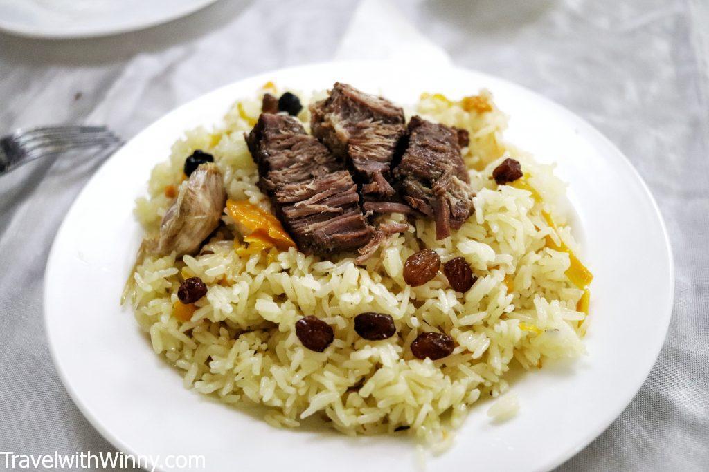 plov uzbekistan food 烏茲別克 食物 抓飯