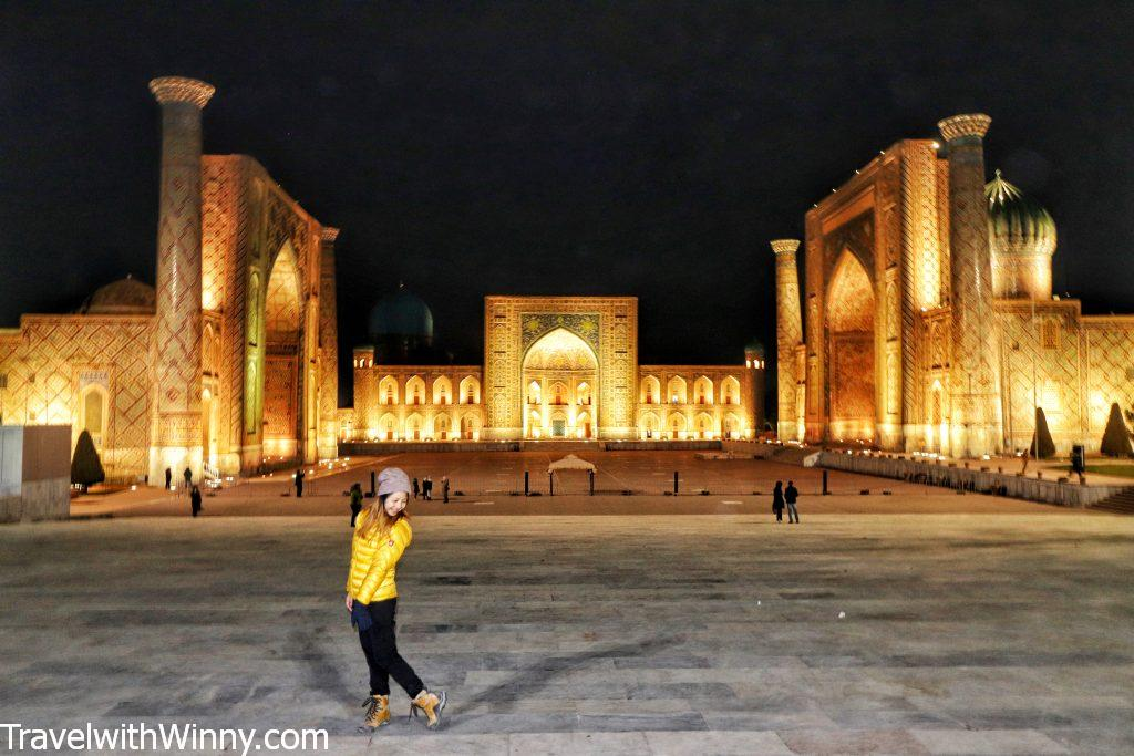 Samarkand 撒馬爾罕 registan 雷吉斯坦廣場