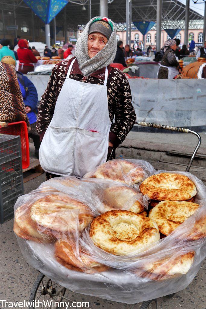 uzbekistan bread 烏茲別克 麵包