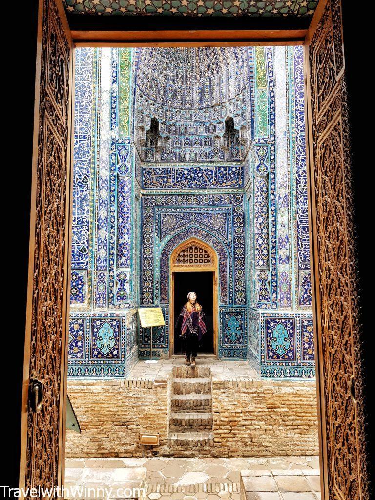 夏伊辛達 Shah-i-Zinda Samarkand