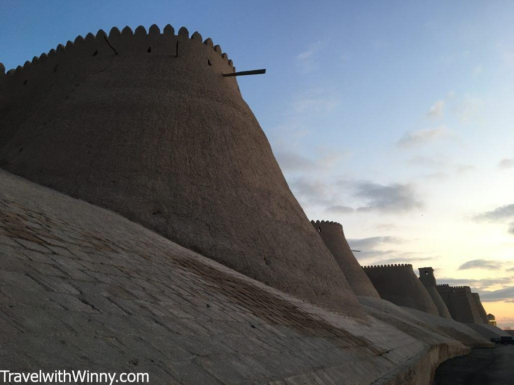 Khiva Mud walls