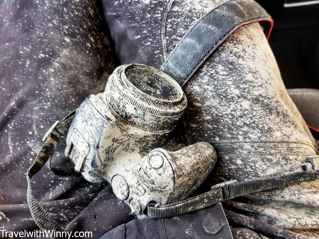 mud camera dirty 髒 相機