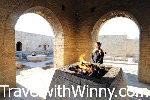 火神廟 Baku Ateshgah fire temple