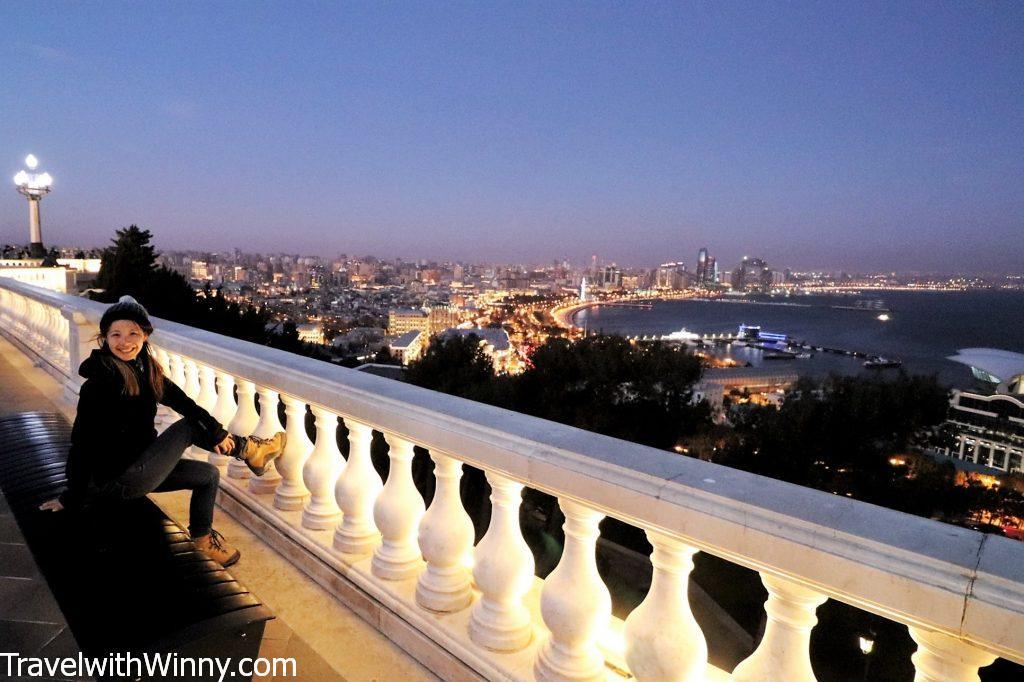 Baku night view 巴庫 夜景