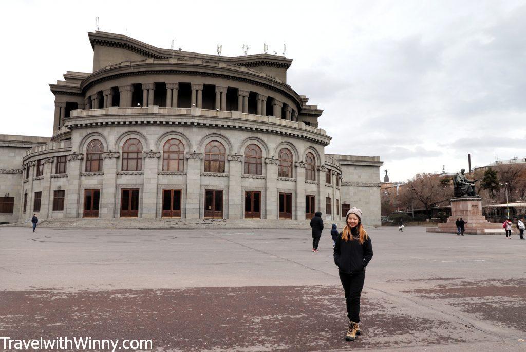 葉里溫歌劇院 Yerevan Opera Theatre