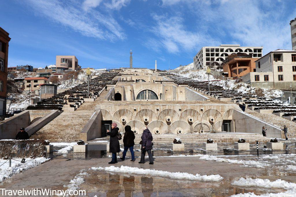 葉里溫階梯 Yerevan Cascade