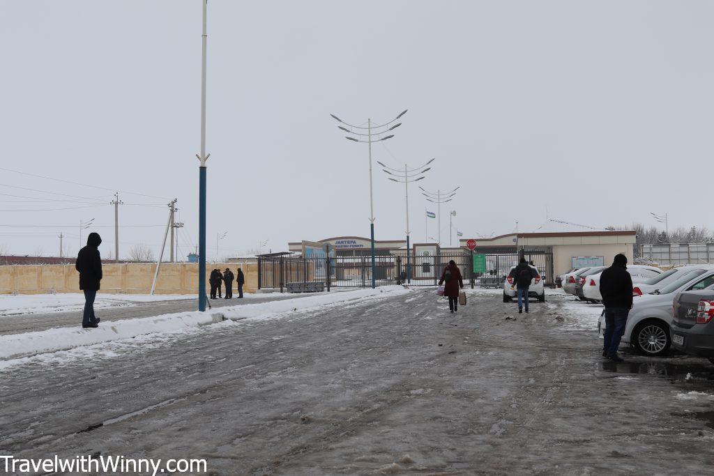 photo of the Panjakent border