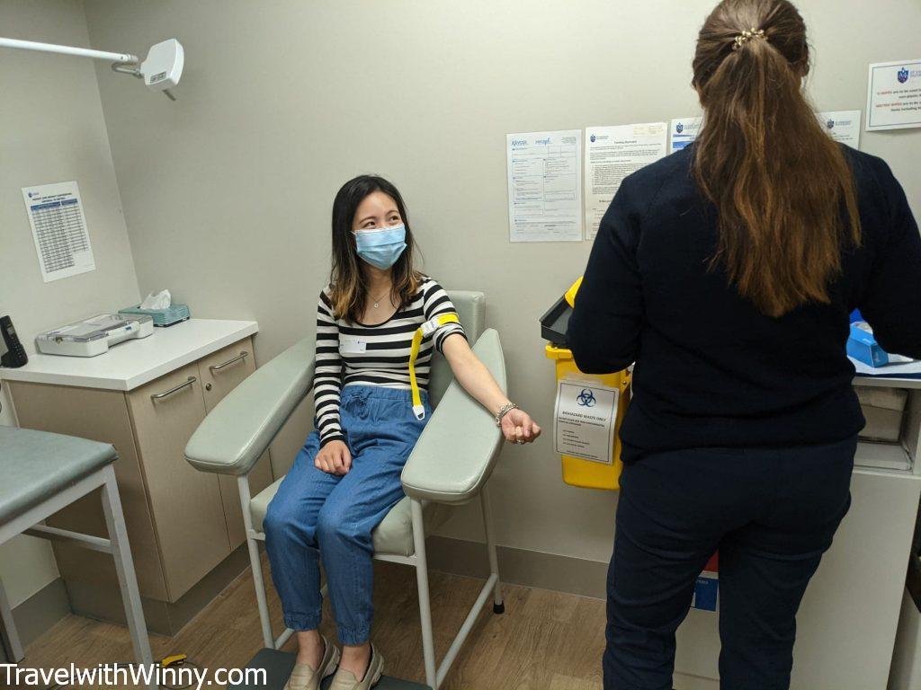 驗血 BLOOD TEST 懷孕初期