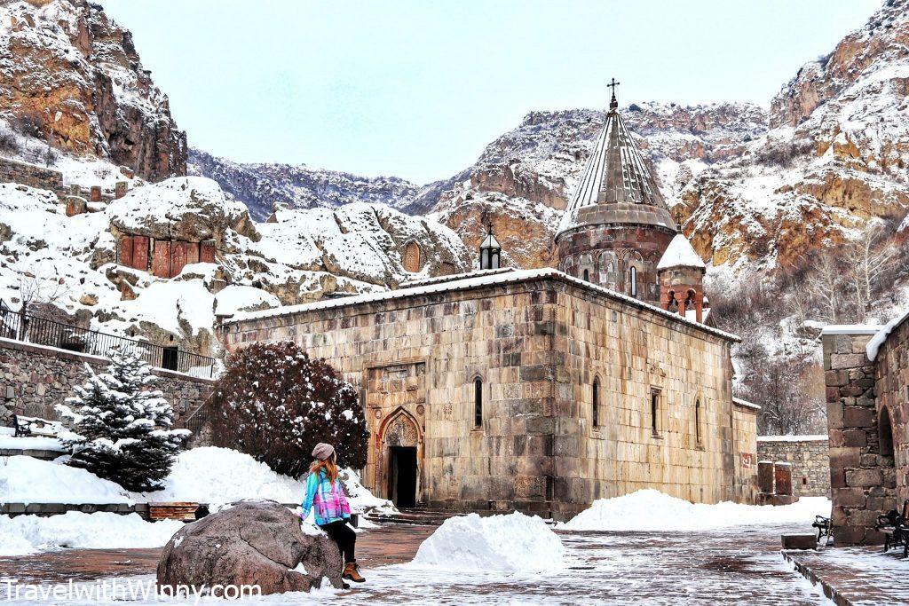 格加爾德修道院 Monastery of Geghard 亞美尼亞