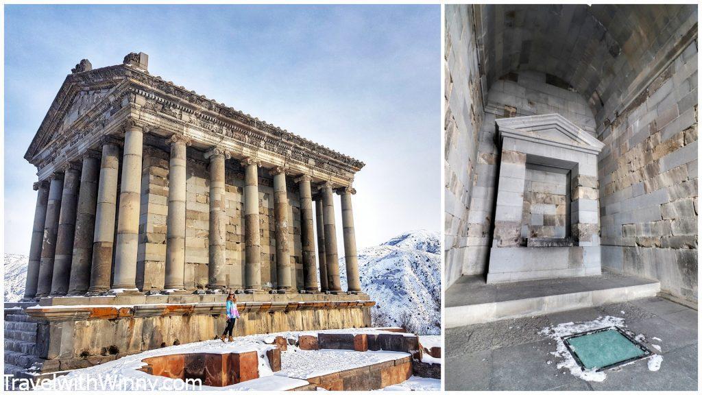加尼神廟 Garni Temple 亞美尼亞