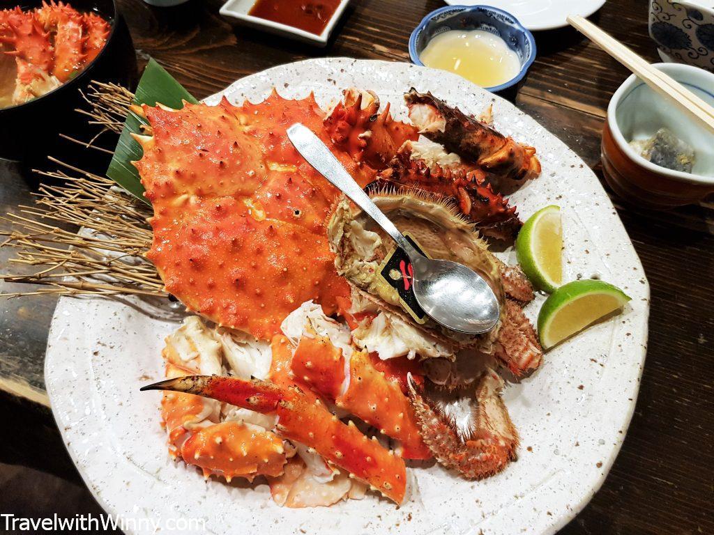 北海道帝王蟹 hokkaido king crab
