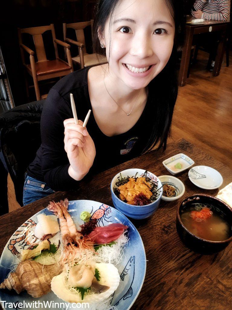 生魚片 sashimi hokkaido 北海道