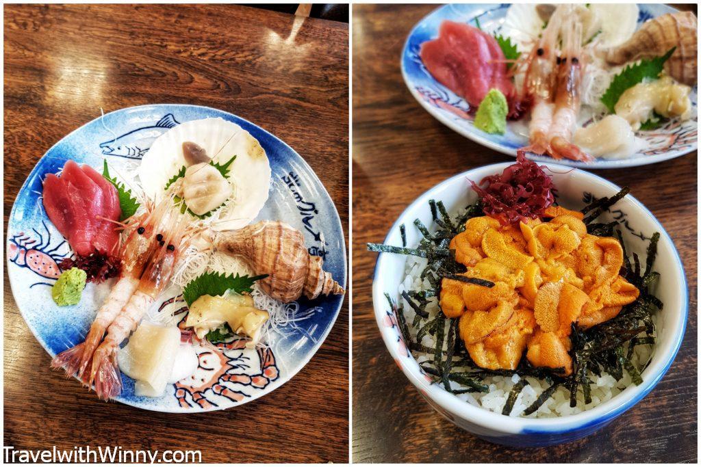 牡丹蝦 海膽飯 uni on rice