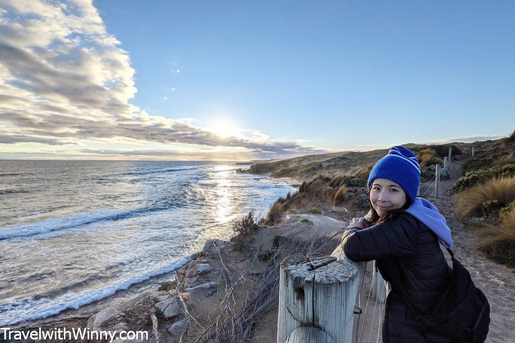 海 夕陽 澳洲 產前憂鬱