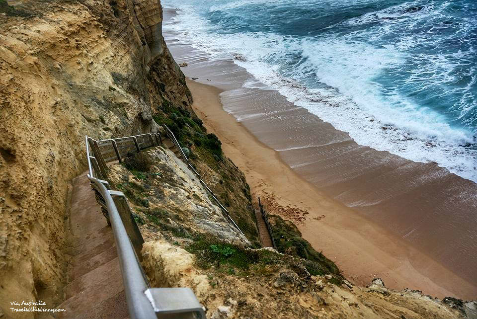 gibson steps 通往海灘的階梯