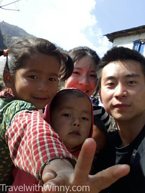 尼泊爾孩童 nepal kids
