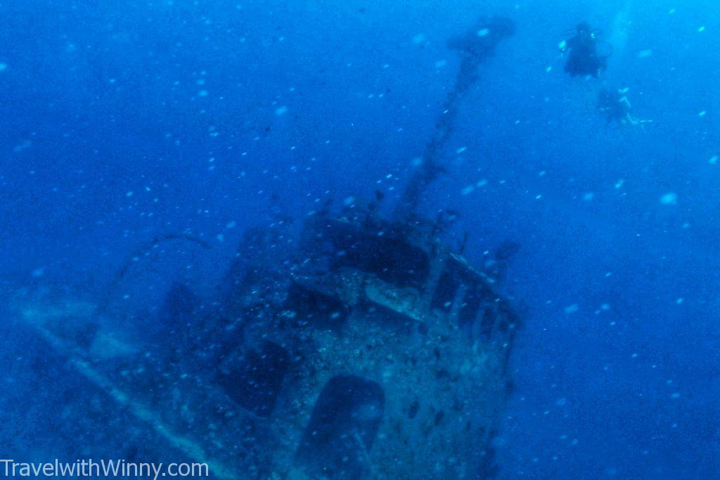 Kudhimaa 沉船 深潛 wreck dive 馬爾地夫 maldives