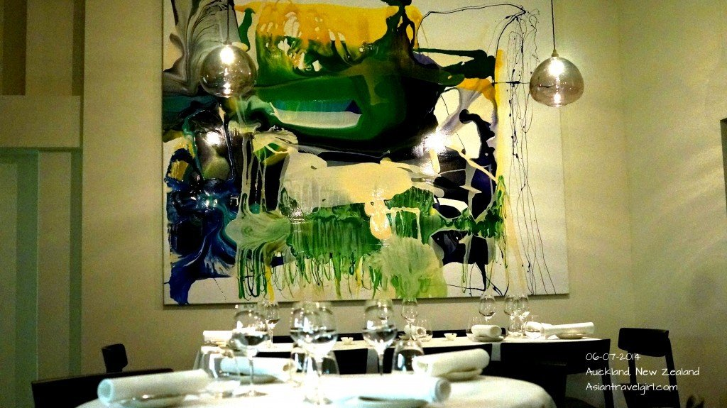 Contemporary Design in interior @The French Cafe