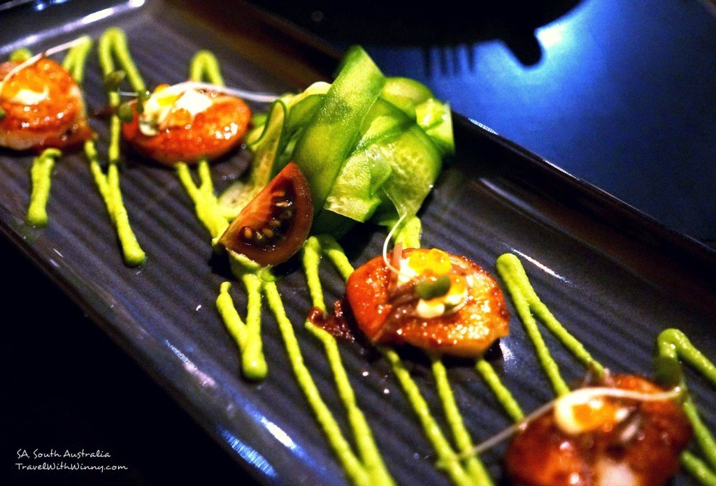 scallops dish