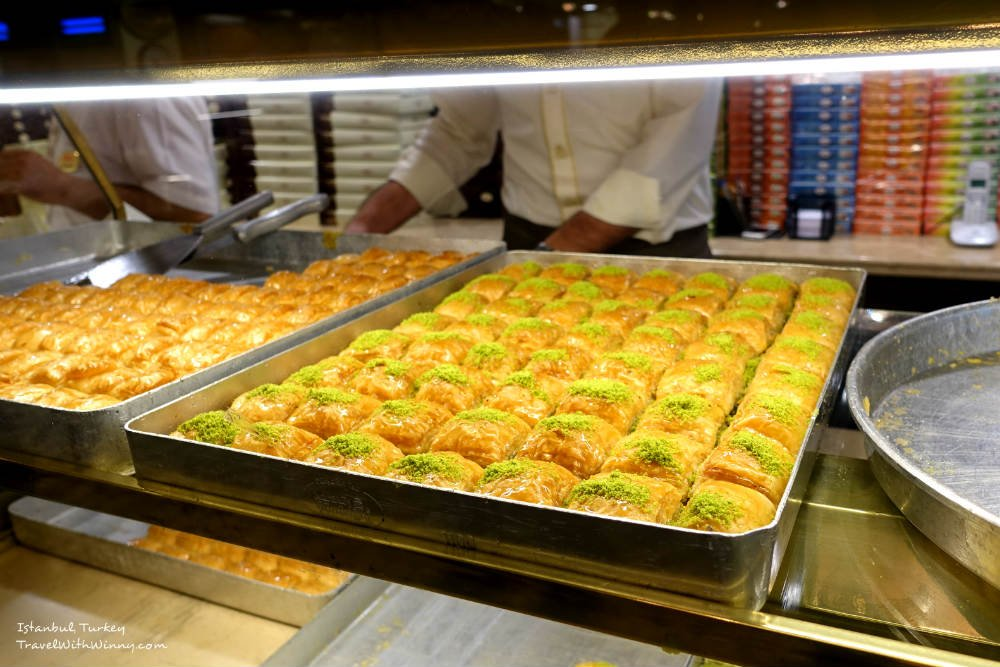 Karakoy Gulluoglu baklava 巴拉瓦餅 土耳其 甜點