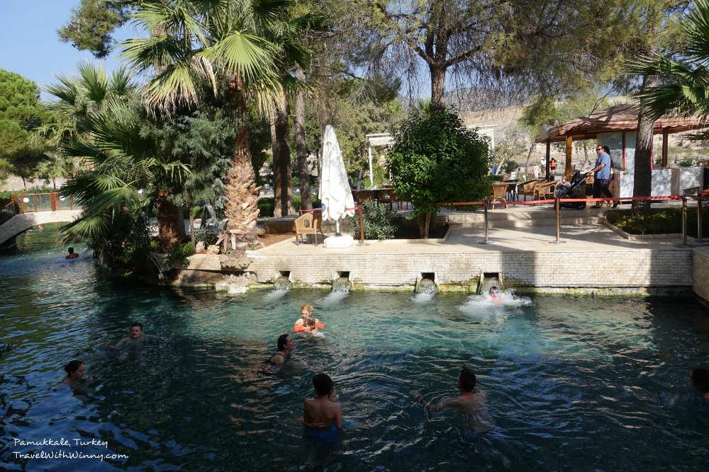 Travertines Pamukkale 土耳其 棉堡 水池