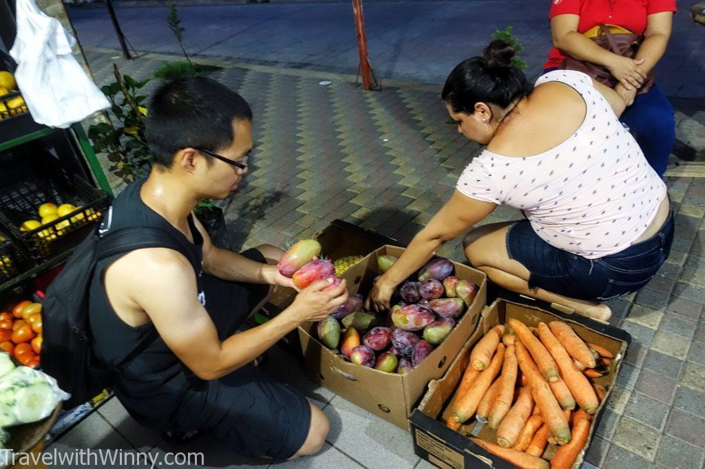 el salvador 薩爾瓦多 fruits 水果攤