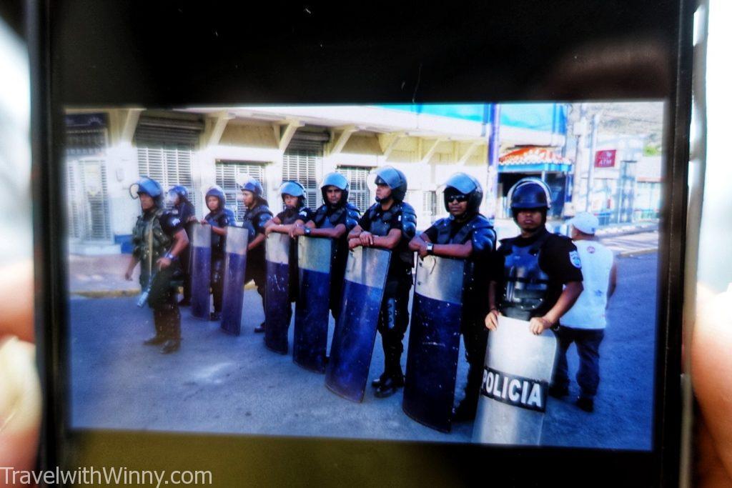尼加拉瓜 政變 nicaragua police