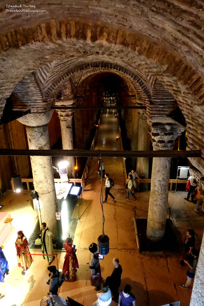 Basilica Cistern 地下 宮殿