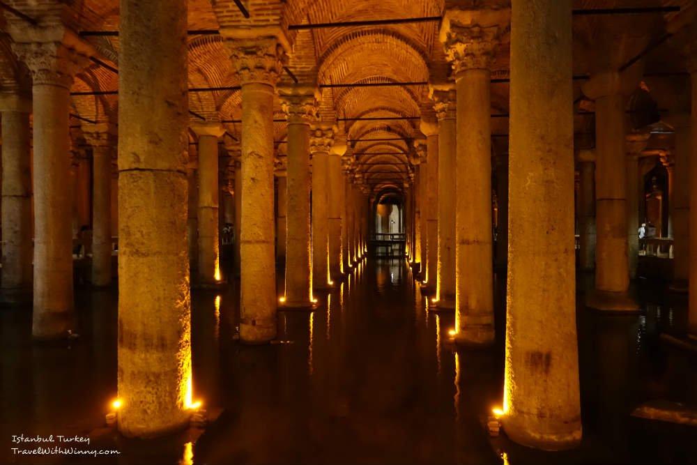 Basilica Cistern 地下水宮殿