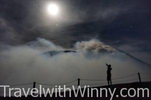 【尼加拉瓜】滿月下的深夜健行,挑戰活火山 Telica 特利卡火山