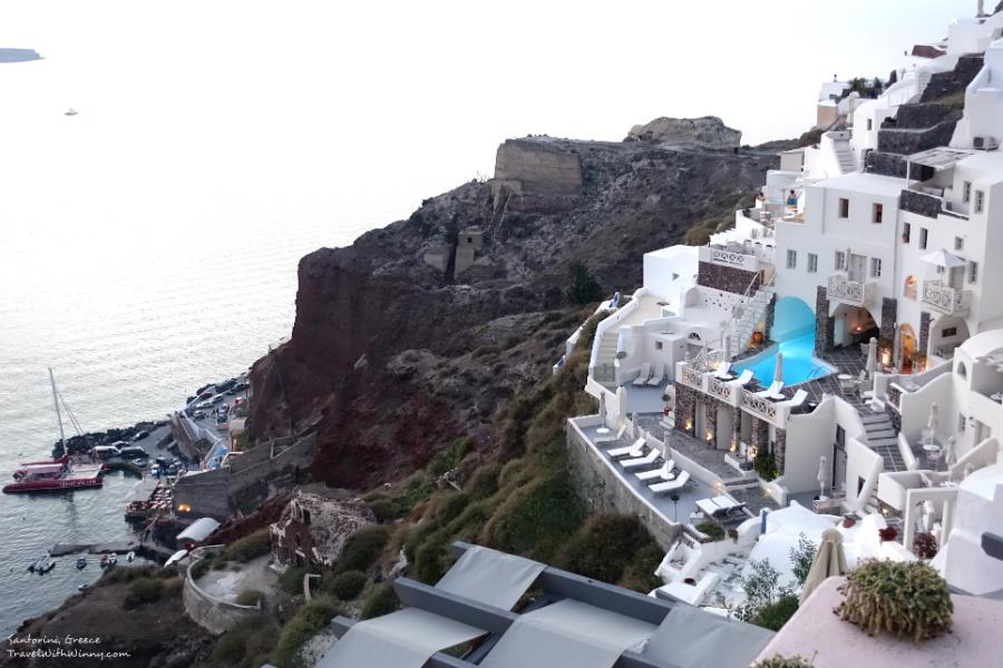 caldera 希臘 白色建築