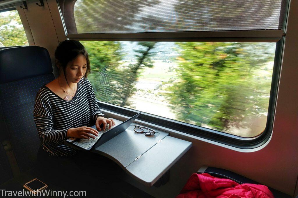 瑞士火車 swiss train